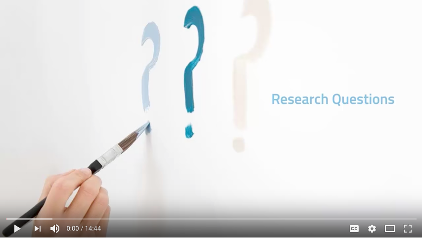 Video tutorial on how to form a research question. Click to watch. Link: https://www.youtube.com/watch?v=kwwdHkYPNo4
