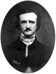 1848 daguerreotype of Poe (public domain)