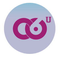 Logo: interlocking C and 6 circles, with U at top left