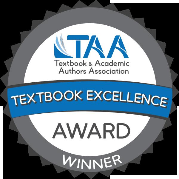 Textbook & Academic Authors Association 2019 Textbook Award Winner